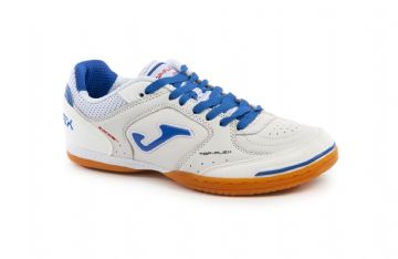 JOMA TOP FLEX - WHITE & ROYAL BLUE